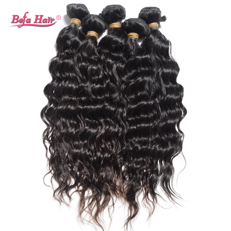Wholesale french curl peruvian virgin hair 10pcs free shipping human hair wavy extension 6A befa hair products free shedding<br><br>Aliexpress