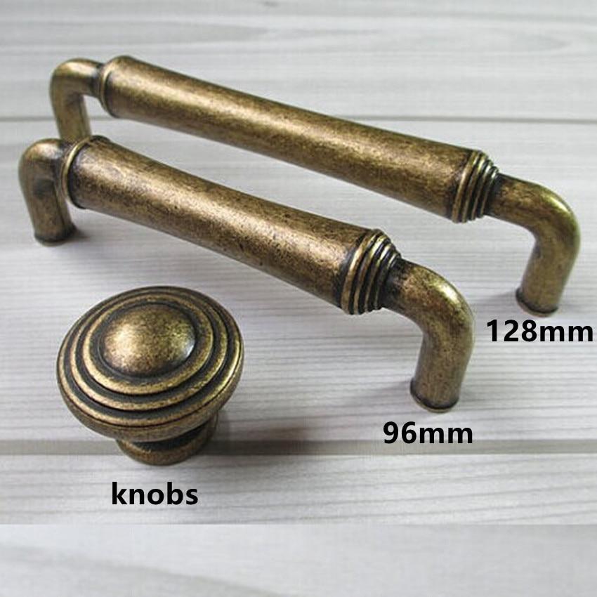 128mm bronze kitchen cabinet wardrobe door handle 5