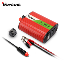 Inverter 12v 110v 300W Power Inverter DC To AC 12V To 110V Car Voltage Converter with 3.1A Dual USB Charger for iPhone X(China)