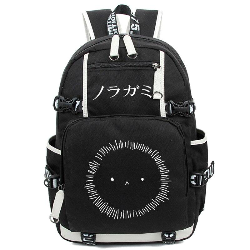 Noragami ARAGOTO YATO Backpack Anime Luminous Shoulder Bag Cosplay Nylon Laptop Travel Schoolbag Free Shipping<br>