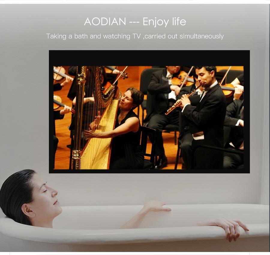 AODIAN AODIN 3D HD Mini projector DLP support 1080P video 8G pico pocket projector for home theater HDMI smart led portable projectors-25