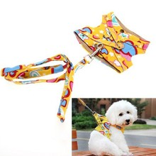 4 colors Dog Harness Canvas Dog Puppy Vest Type Traction Rope Pet Leash Walking Tool Hot Selling