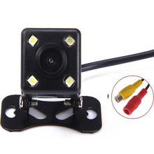 4 LED Night Vision Car Rear View Camera Backup Parking Kit For Ford/Toyota/VW/Chevrolet(China)