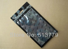 19.5x11.5 Zipper Plastic Retail Packaging Plastic bag, Poly PP bag for cell phone case for iphone 4G 5G case