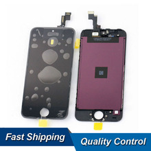 50pcs/lot Cell Phone Glass LCDs Replacement For Iphone 5C LCD Display Digitizer Assembly