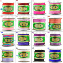 U Pick 0.8mm Taiwan Chinese Knot Coloured Rope Line Thread Accessories Diy Shamballa Bracelet Wax Nylon Cord ,Free Shipping