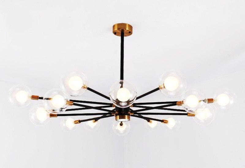 Nordic Modern Molecular Magic Bean Branch Pendant Lights Italian LED Hanging Lamp for Dining Room Kitchen living room bar Lighting 06
