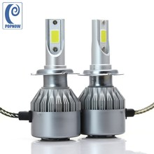 POPNOW 2pcs H7 36W 6000K Car COB LED Headlight Bulbs Headlamp Kit Low Beam For Audi A3 A4 A5 A6 Q5 Q7 TT Quattro#7049(China)