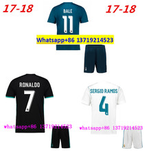 2018 best Quality Realed Madrided jersey 17 18 Home Away football camisetas Thai AAA shirt free shipping dx(China)