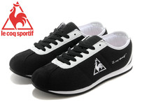 Hot Sale Le Coq Sportif Women's Running Shoes,High Quality Canvas Upper Le Coq Sportif Athletic Shoes Sneakers Black/White 3