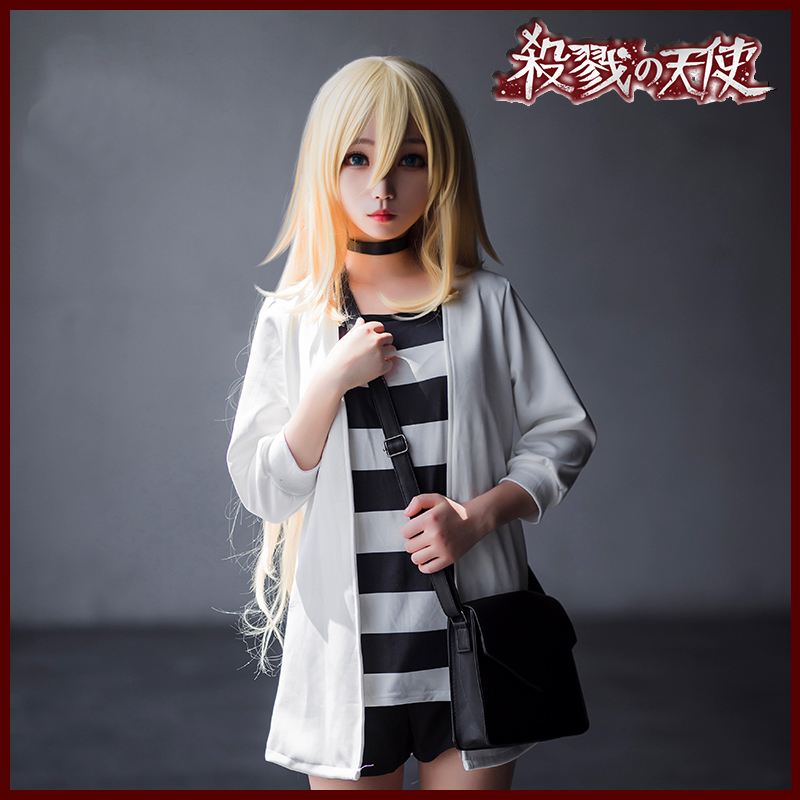 Angels of Death Rachel Ray Gardner Cosplay Womens Anime Girl Costume Outfit