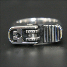 3pcs/lot Fast Shipping New Lighter Ring 316L Stainless Steel Jewelry Band Party Lighter Style Ring(China)