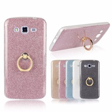 Buy New Bling Glitter Cute Metal Circular Ring Stand soft Slim TPU Case Samsung Galaxy Grand 2 Duos Grand2 G710 G7102 Back Cover for $2.87 in AliExpress store