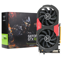 Colorful GeForce GTX iGame 1050Ti GPU 4GB 128bit Gaming 4096M GDDR5 PCI-E X16 3.0 Video Graphics Card  Port with Two Cooling Fan