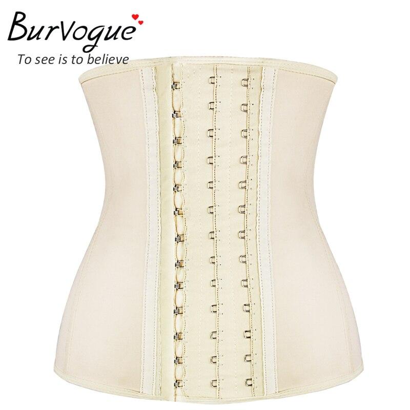 women latex waist trainer