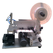 semi automatic flat labeling machine LM-60+Free shipping by Fedex(door to door service)