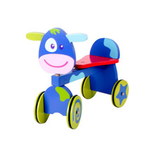 Free love@ Wooden high-grade riding toys Take bus ride to children's toys pure wooden toys children carriage baby ride on car
