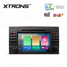 "XTRONS 2 Din 7"" HD Octa Core Android 6.0 GPS Car DVD Player for Mercedes Benz B-Class W245/A-Class W169/Viano & Vito W639/W906"