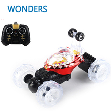 new arrival scalable RC Cars big size Dump Stunt Car Remote Controll Electric Car Toys With Light And Musics For Children(China)