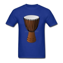 Djembe Drum Short Sleeved Shirt Boys 100% Cotton Clothes Plus Size Wholesale Youth Custom Shirts