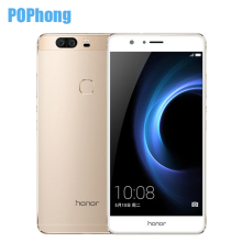 Original Huawei Honor V8 4G LTE 5.7 inch 4GB RAM 32GB ROM Mobile Phone Android 6.0 Kirin 950 Octa Core Dual Rear 12.0MP Camera