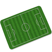 CAMMITEVER Football Field Carpets For Living Room Soccer Lawn Basketball Sports Mat American Baseball Fire Water Ball Mats 360g