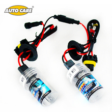 Auto Care Xenon HID bulbs DC 12V 55W Car Headlight H1 H3 H7 H8/H9 H27/880/881 9005/HB3 9006/HB4 3000K 4300K 5000K 6000K 8000K