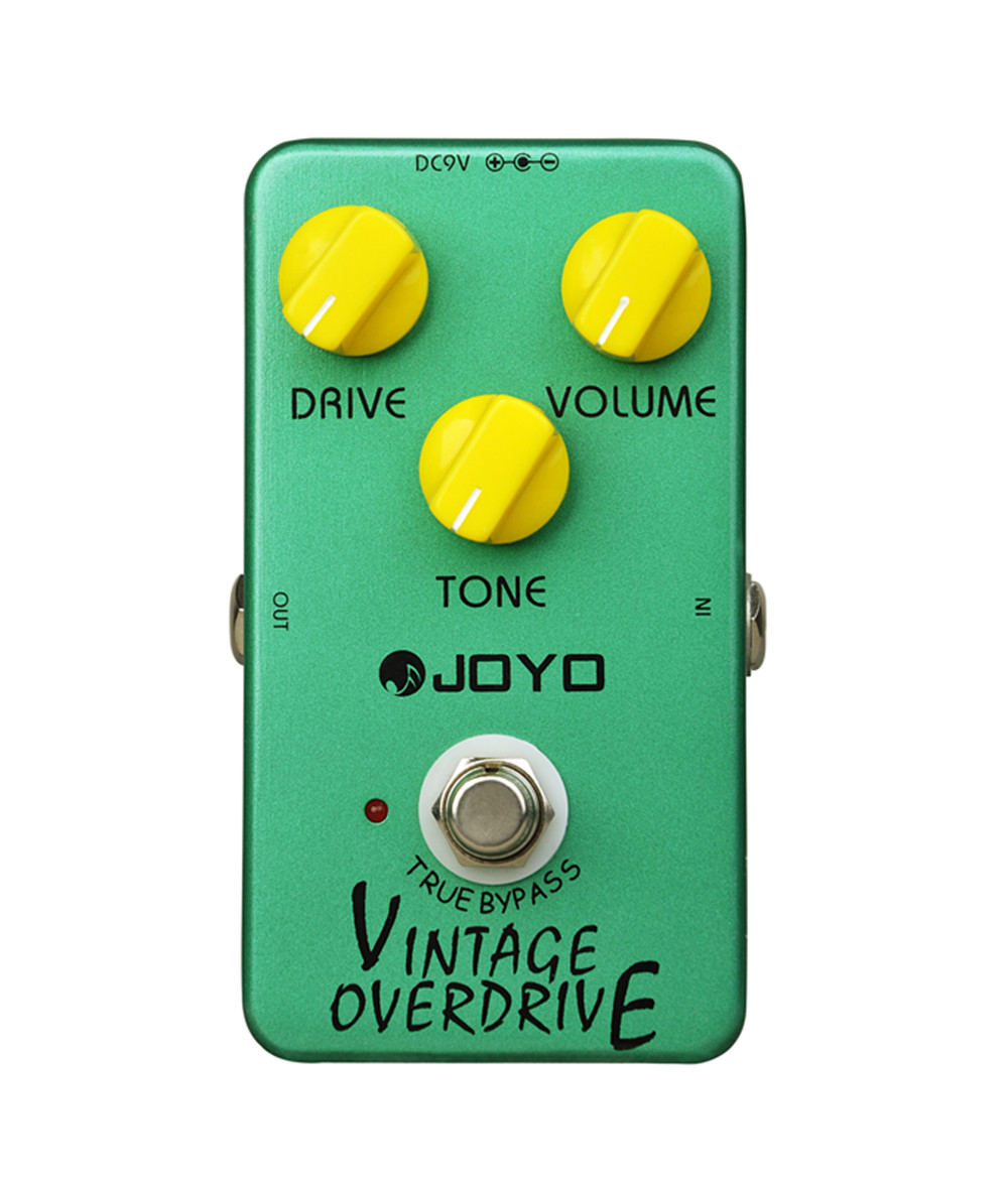 Joyo JF-01 Vintage Overdrive Electric Guitar Effect Pedal True Bypass<br>