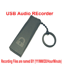 TF card reader Battery indicator function Audio recorder USB disk 1 key recording audio recorder battery 15h work Voice recorder