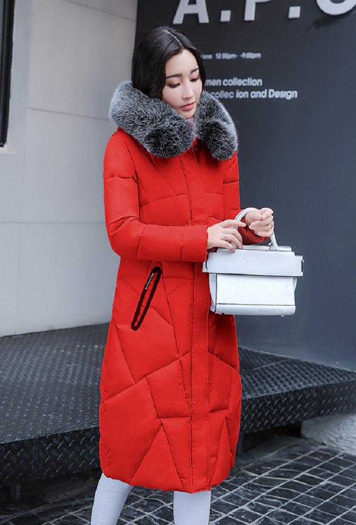 2017 Winter Women Coat Thicken Warm Long Jacket women coat girls long slim big coat jacket Down Parka+22 (1)
