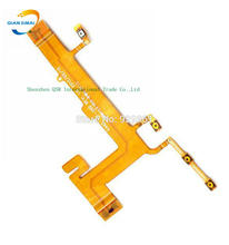 QiAN SiMAi 1PCS New 100% Original Side Volume Button Flex cable Repair Parts For Nokia Lumia 625 mobile Phone + DropShipping(China)