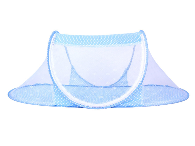 Infant Baby Bedding Crib Mosquito Net For Baby portable Mosquito Mesh Netting Toddler Cots fodable Summer Mosquito Nets Insect (5)