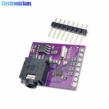 1Pcs Si4703 FM RDS RBDS Tuner Breakout Board Digital Radio Broadcast Data Processing Module For Arduino AVR ARM PIC(China)