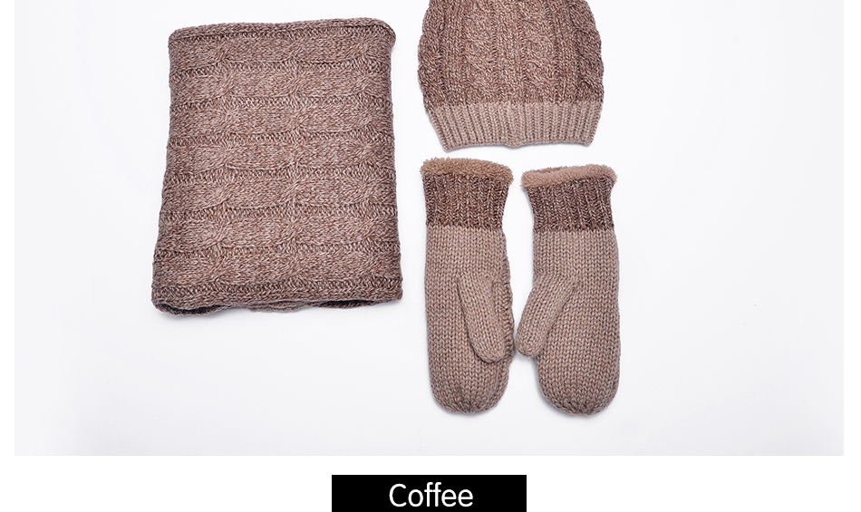 hat and scarf Glove Set TZ007 PC (6)