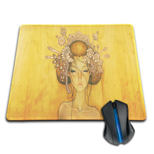 Babaite woman drawing by audrey kawasaki Anti-Slip Rubber Mouse Mat Pad Large Gaming Mousepad PC Computer Laptop Optical Mice