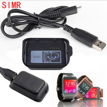 SIMR New Arrival Charging Dock Cradle Charger Adapter For Samsung Galaxy Gear 2 SM-R380 Watch With USB Cable Hot Sale