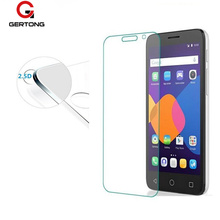 GerTong 9H Tempered Glass Screen Protector Film For Alcatel Idol3 Idol4 Pixi3 Pixi4 Idol Pixi Pop 3 4 Pop4 Plus Protective Glass