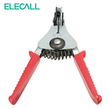 ELECALL Automatic Cable Wire Stripper Stripping Crimper Crimping Plier Cutter Tool Diagonal Cutting Pliers Peeled Pliers