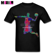 City Man's Basketballs A Typography Short-Sleeved T Shirt 3XL Tee Design