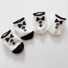 Spring and Autumn new children 's socks baby cute little bow knot socks infant cotton anti - skid socks 0 to 24m kids socks(China)