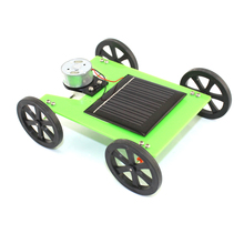 2017 Funny Mini Solar Powered Toys DIY Car Model Kit 13*4.6*10cm Children Educational Hobby Gadget Assemble Material Building(China)