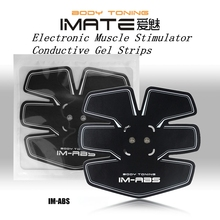 On Tv IM-05 Conductive Gel Set ABS EMS Massager Electronic Equipment Muscle Stimulator Strips Pulse Muscle Training Tquipment