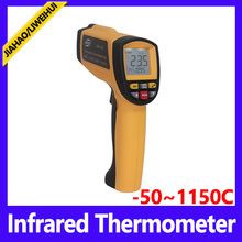 handheld digital Ir temperature gun infrared thermometer manufacturer -58~2102 fahrenheit GM1150 BENETECH Brand