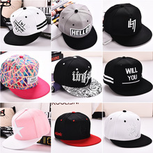 Korean Popular Cotton 2017 Fashion Unisex Hip Hop Kpop Embroidered Adult Baseball Black Pink Gray Cap Great Fishing Company