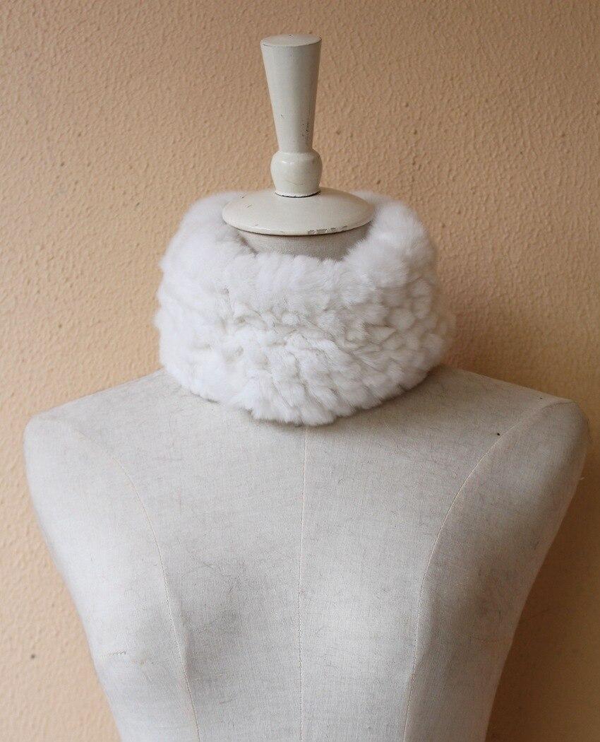 fur scarf rabbit rex for women (1)