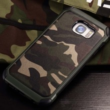 Camouflage Military Phone Case 6.0For Samsung Galaxy S7 Plus Case For Samsung Galaxy S7 Plus Cell Phone Back Cover Case(China)