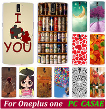 Classic Print Love You Beer Moon Cute Littel Girl Painted Cases Hood For Oneplus One One plus One Phone Case Back Cover Shell