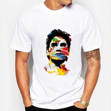 Roger Federer T-Shirt Fashion Tenni Star Printed Tshirt Short Sleeve Cotton Tees For Men Women RF T Shirt Euro Size 3XL(China)