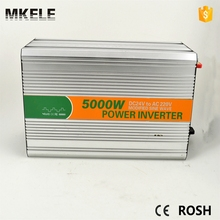 MKM5000-122G modified sine wave 5kw inverter intelligent dc/ac power inverter 220v 5000w 12v dc to 220v ac inverter circuit