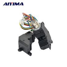 AIYIMA 5pcs Micro Stepper Motor 3V 0.15A 8MM Two Phase Four Wire With Gear Box Focusing For Digital Cameras Miniature Robots